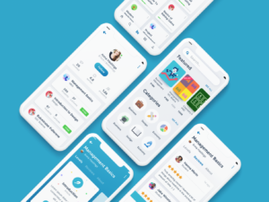 Education App Design Concept
