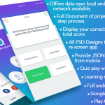 Play Quiz (Material Design) Android and iPhone Source Code