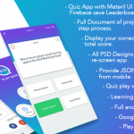 Play Quiz (Material Design) Android and iPhone
