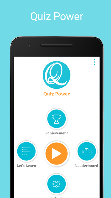 Quiz power - App - Quiz App - Source code - Android -general knowledge