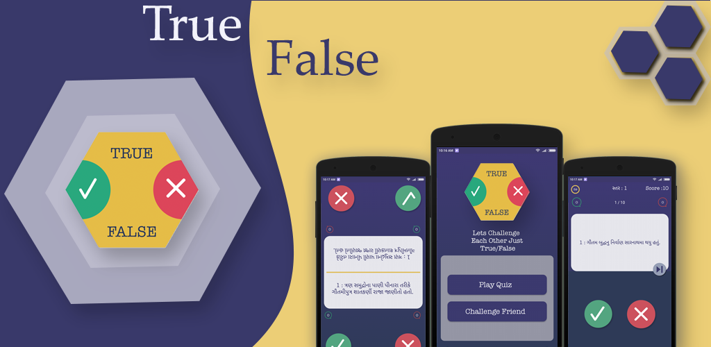 True False - App - Android -source code -by Arkayapps