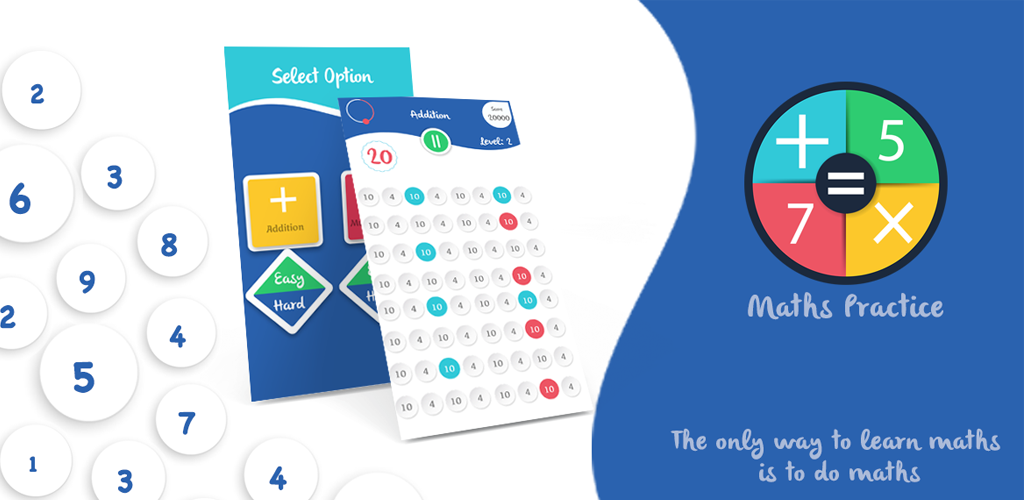 Maths Practice Android Apps source code
