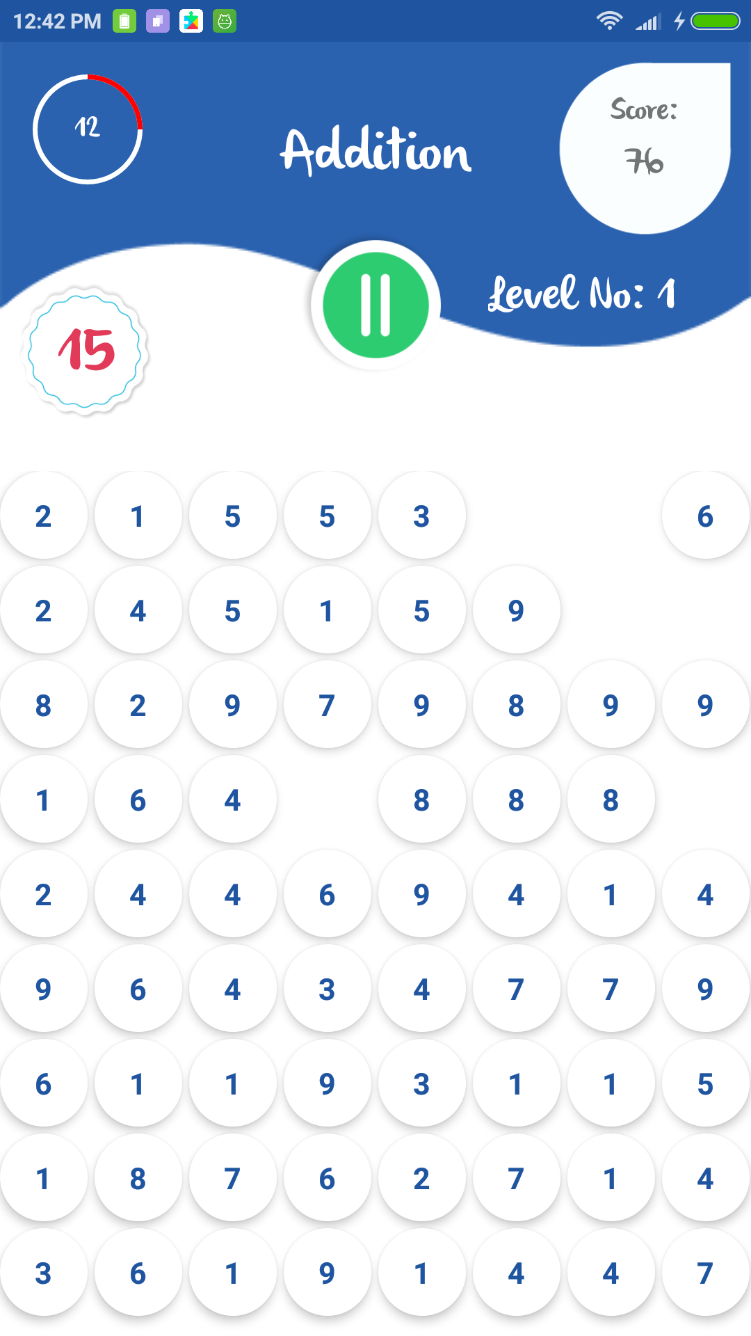maths practice - app - addition -multiplication - android - source code - free - arkayapps