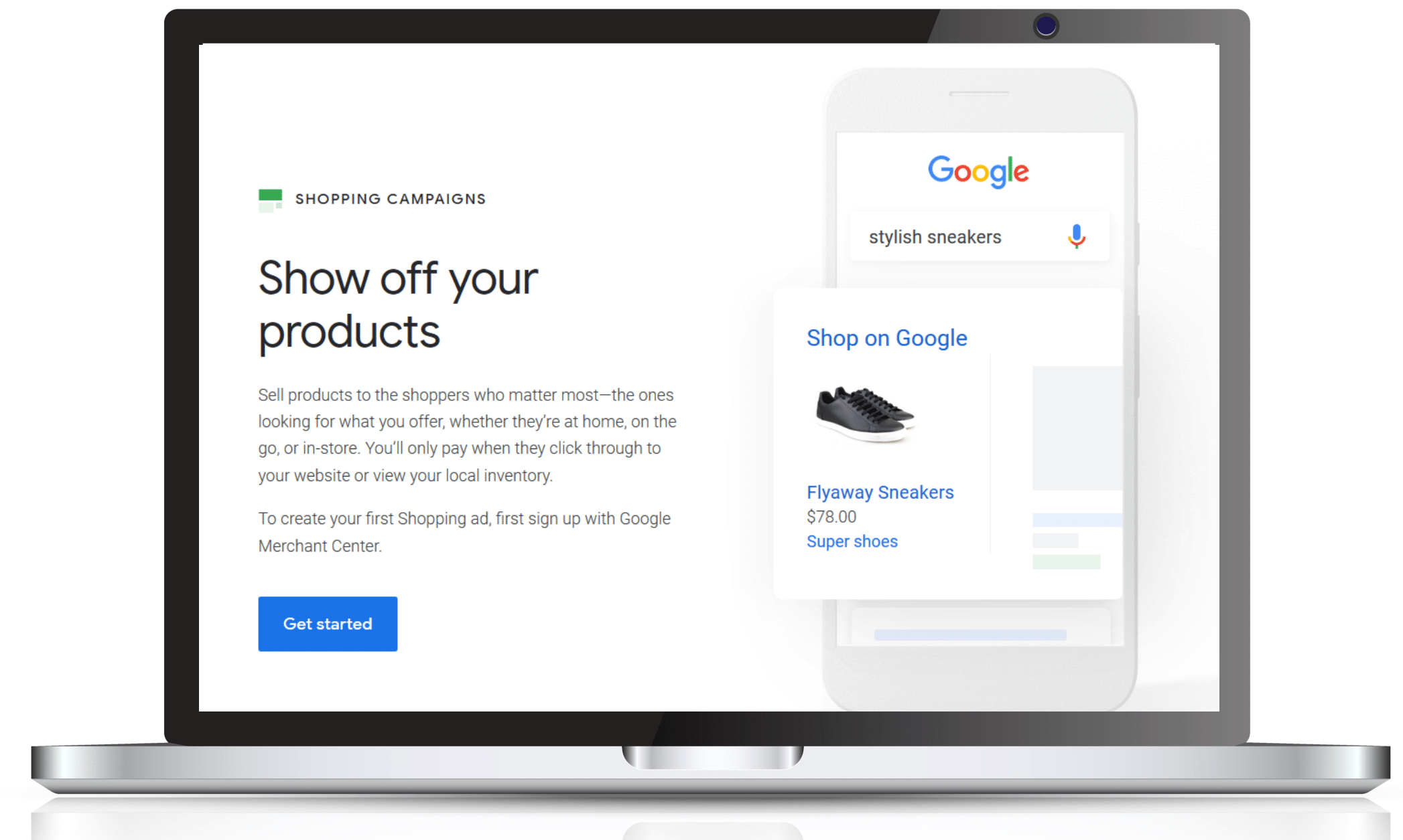 google shopping ads in wales uk