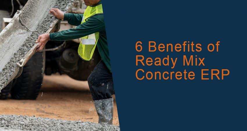 ready mix concrete erp software