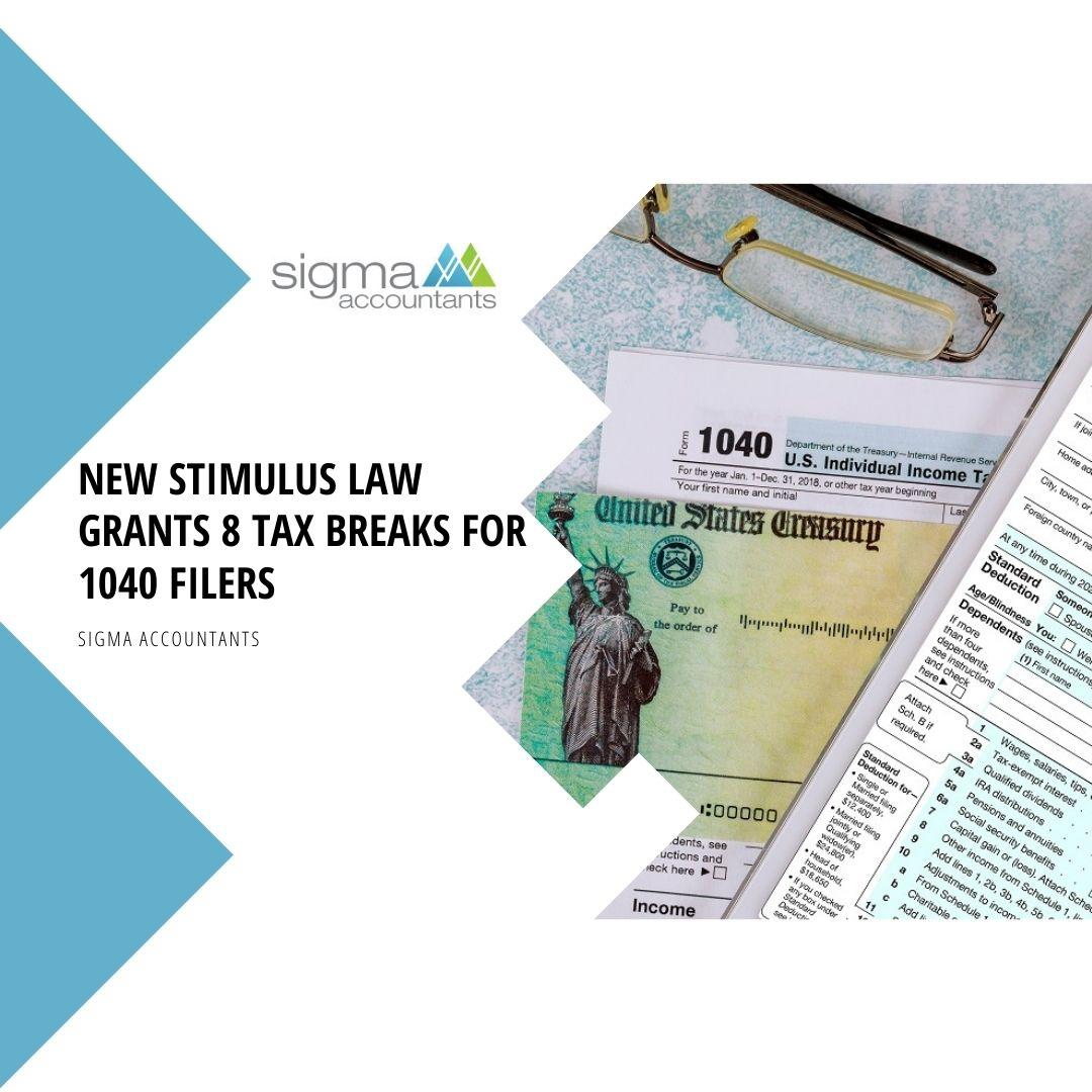 Law-Grants-8-Tax-Breaks-for-1040-Filers