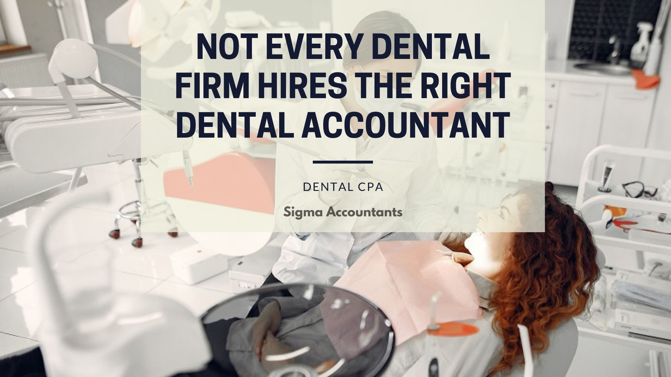 dental practice accounting