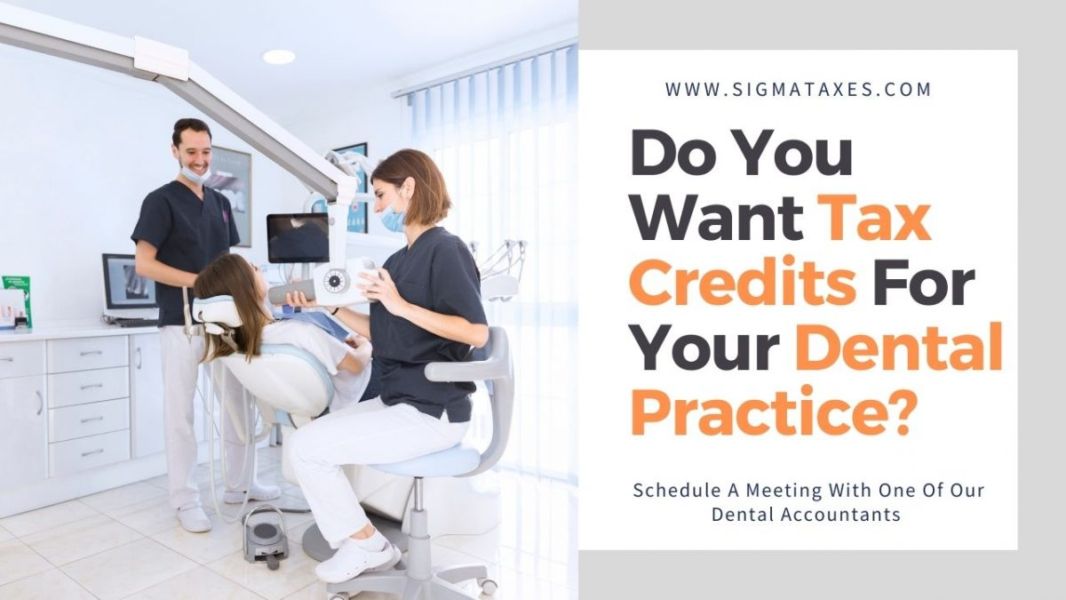 Tax Credits For Your Dental Practice