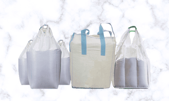 flexible intermediate bulk container packaging